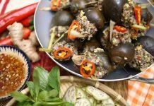 Hướng dẫn làm ốc bươu nhồi thịt dễ, ngon tại nhà